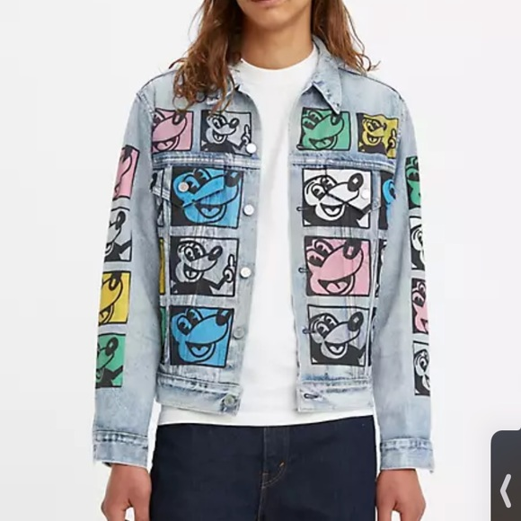 LEVIS Disney Mickey Mouse X Keith Haring Vintage